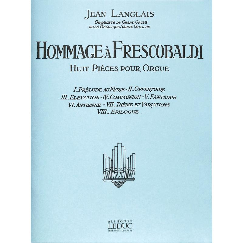 Titelbild für AL 27896 - HOMMAGE A FRESCOBALDI