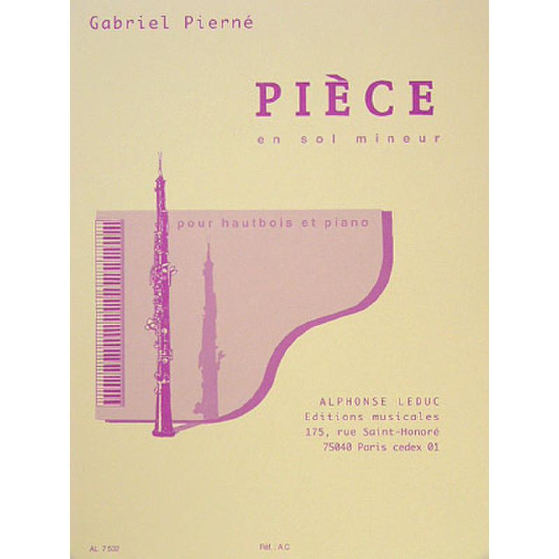 Titelbild für AL 7532 - PIECE G-MOLL