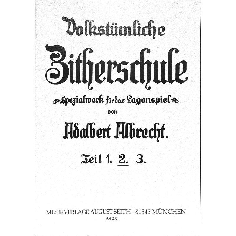 Titelbild für AS 202 - ZITHERSCHULE 2