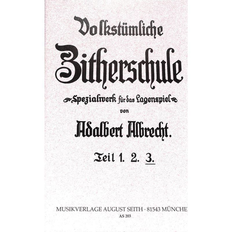 Titelbild für AS 203 - ZITHERSCHULE 3