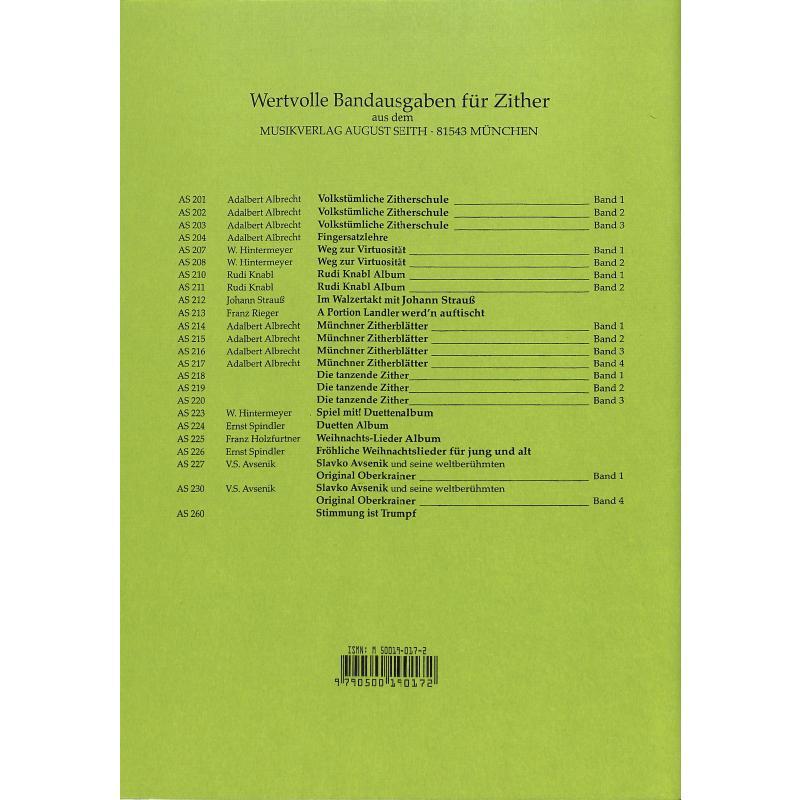 Notenbild für AS 225 - WEIHNACHTSLIEDER ALBUM