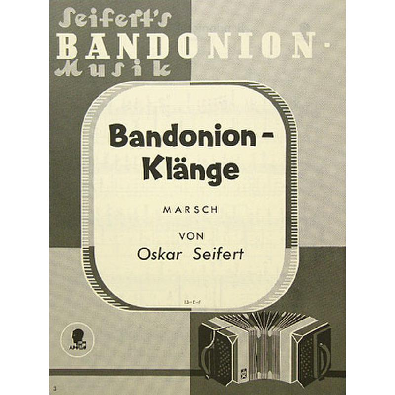 Titelbild für AV 13 - BANDONEON KLAENGE