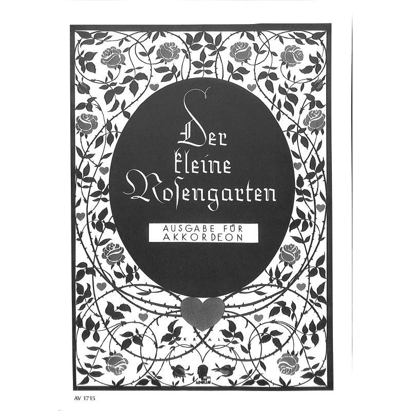 Titelbild für AV 1715 - DER KLEINE ROSENGARTEN