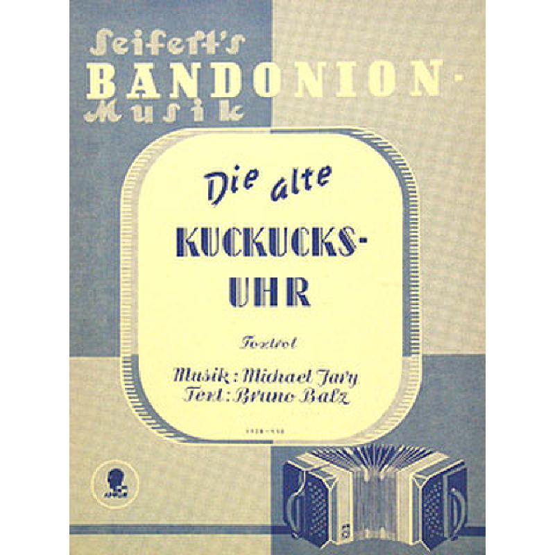 Titelbild für AV 1928 - DIE ALTE KUCKUCKSUHR