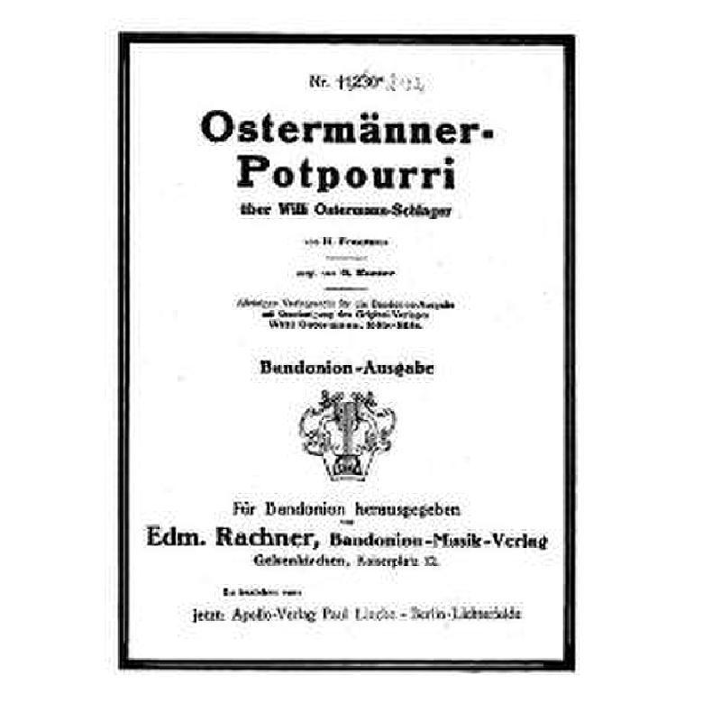 Titelbild für AV 2132 - OSTERMAENNER POTPOURRI