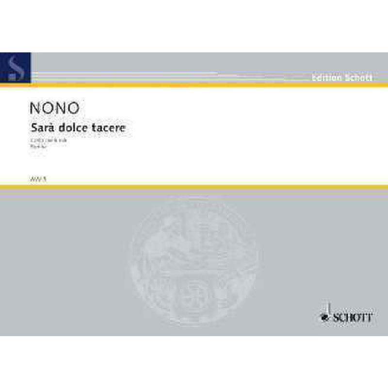 Titelbild für AVV 5 - SARA DOLCE TACERE