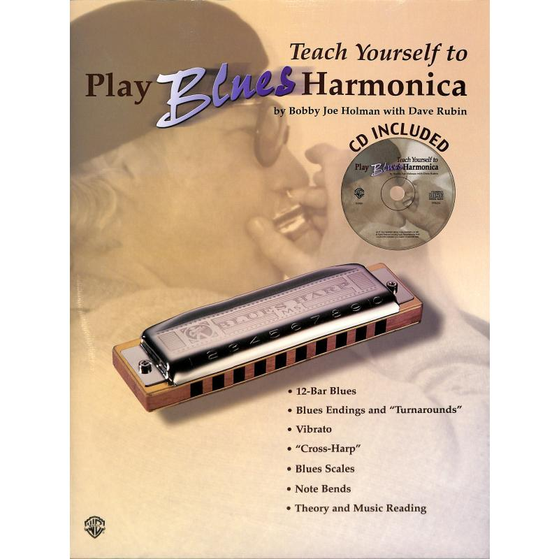 Titelbild für IM 386B - TEACH YOURSELF TO PLAY BLUES HARMONICA