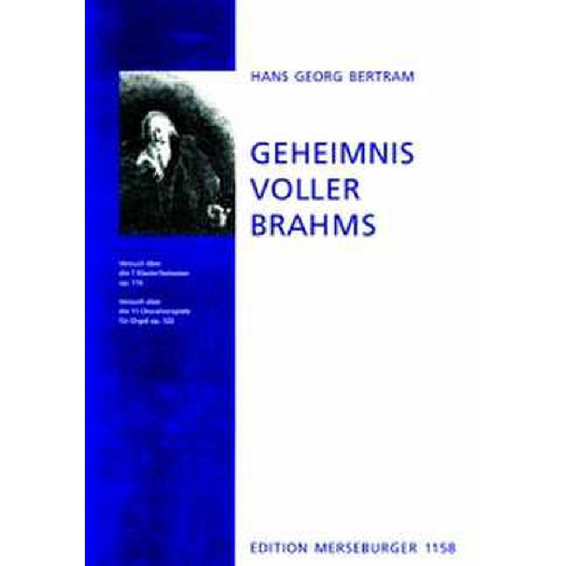 Titelbild für MERS 1158 - GEHEIMNISVOLLER BRAHMS