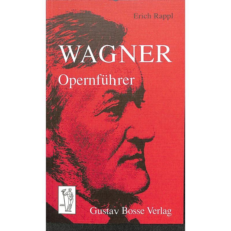 Titelbild für BOSSE 2501 - WAGNER OPERNFUEHRER