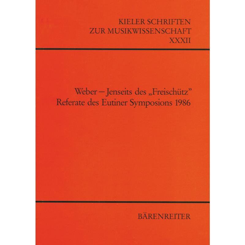 Titelbild für BABVK 907 - WEBER - JENSEITS DES FREISCHUETZ