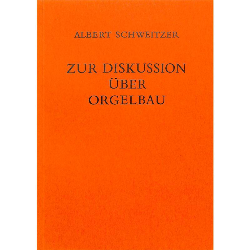 Titelbild für MERS 1161 - ZUR DISKUSSION UEBER ORGELBAU