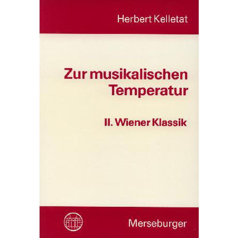 Titelbild für MERS 1196 - ZUR MUSIKALISCHEN TEMPERATUR