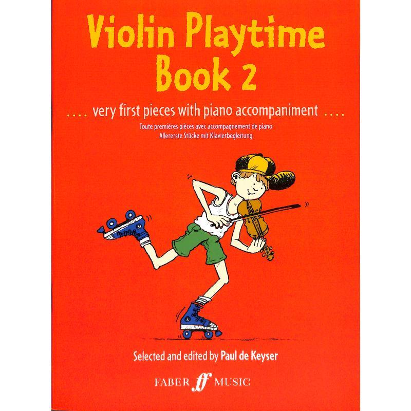 Titelbild für ISBN 0-571-50872-3 - VIOLIN PLAYTIME 2