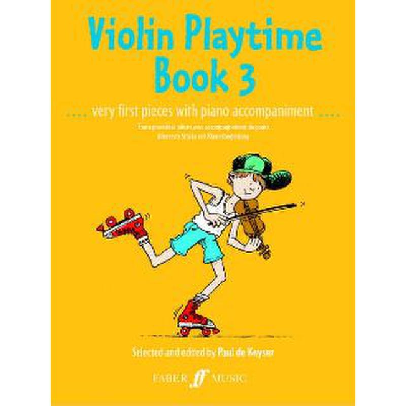 Titelbild für ISBN 0-571-50873-1 - VIOLIN PLAYTIME 3