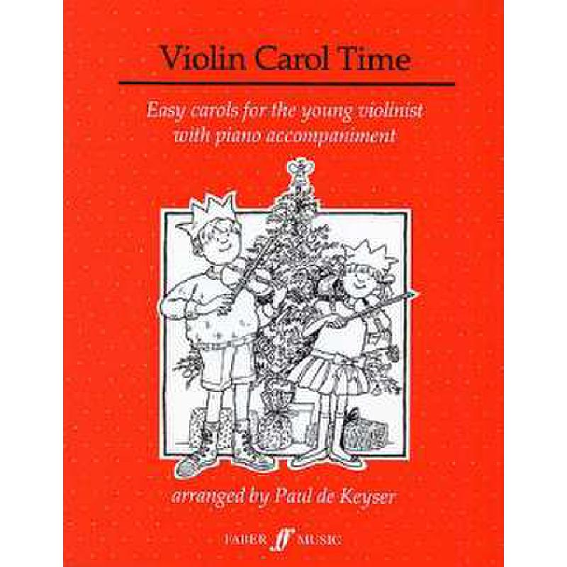 Titelbild für ISBN 0-571-50891-X - VIOLIN CAROL TIME