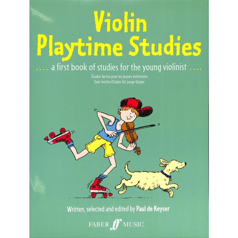 Titelbild für ISBN 0-571-51013-2 - VIOLIN PLAYTIME STUDIES