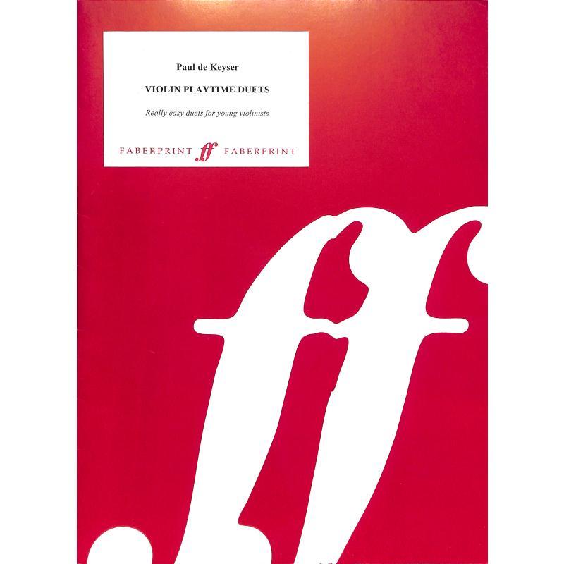 Titelbild für ISBN 0-571-51155-4 - VIOLIN DUET TIME