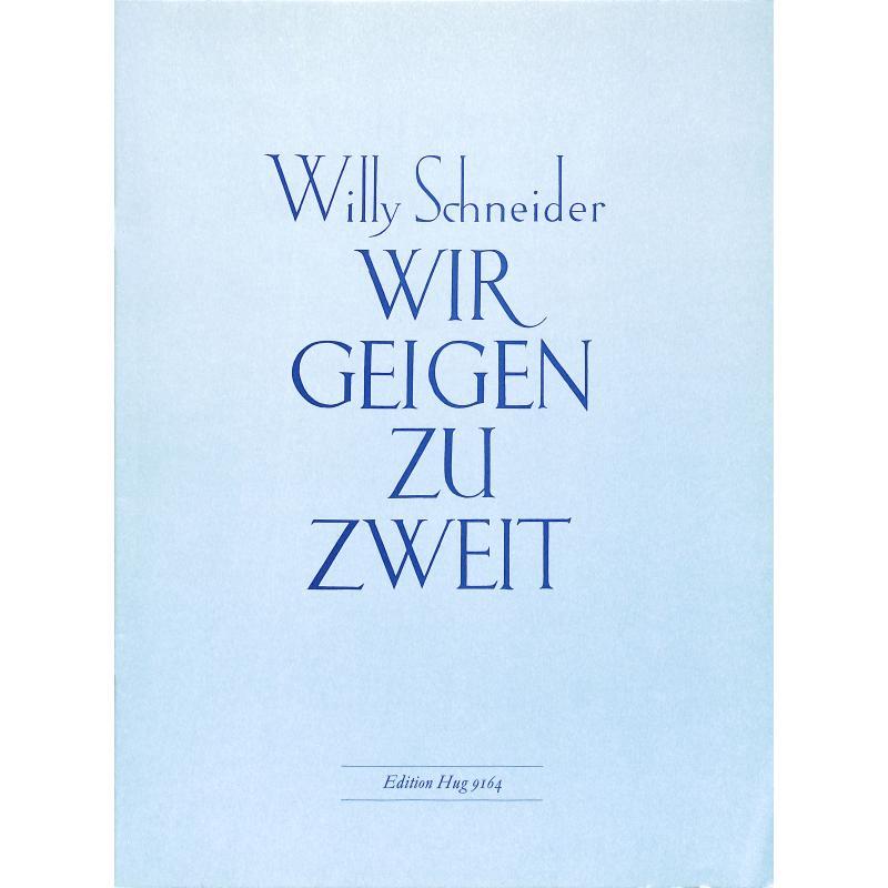 Titelbild für GH 9164 - WIR GEIGEN ZU ZWEIT