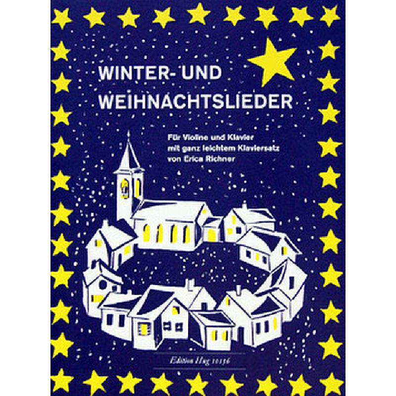 Titelbild für GH 10156 - WINTER UND WEIHNACHTSLIEDER