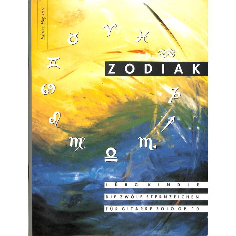Titelbild für GH 11527 - ZODIAK - 12 STERNZEICHEN