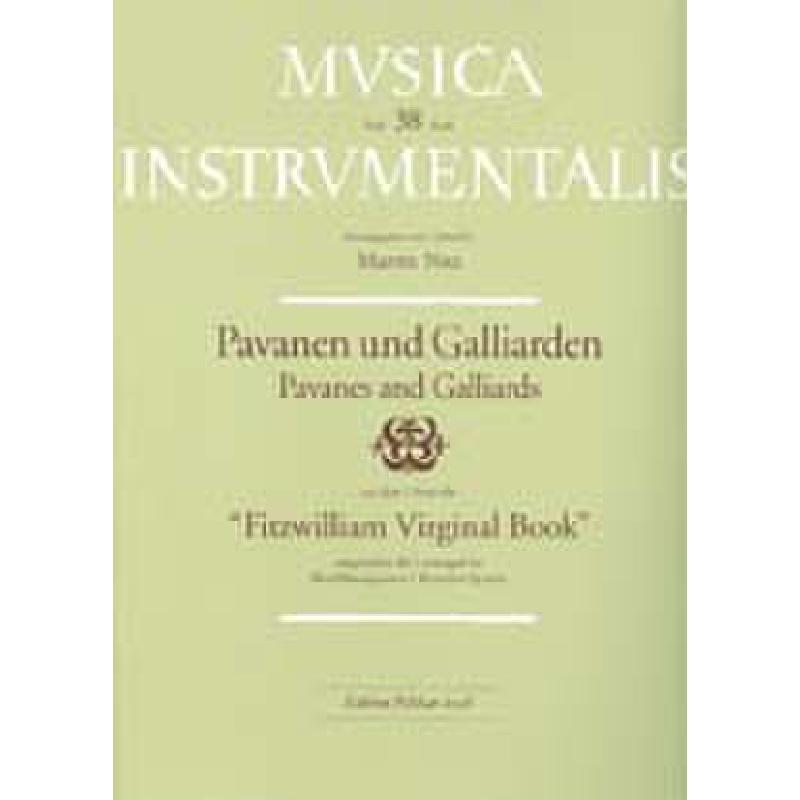 Titelbild für PE 2038 - PAVANEN + GALLIARDEN AUS DEM FITZWILLIAM VIRGINAL BOOK
