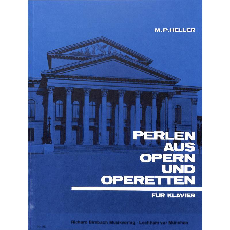 Titelbild für BB 25 - PERLEN AUS OPERN + OPERETTEN