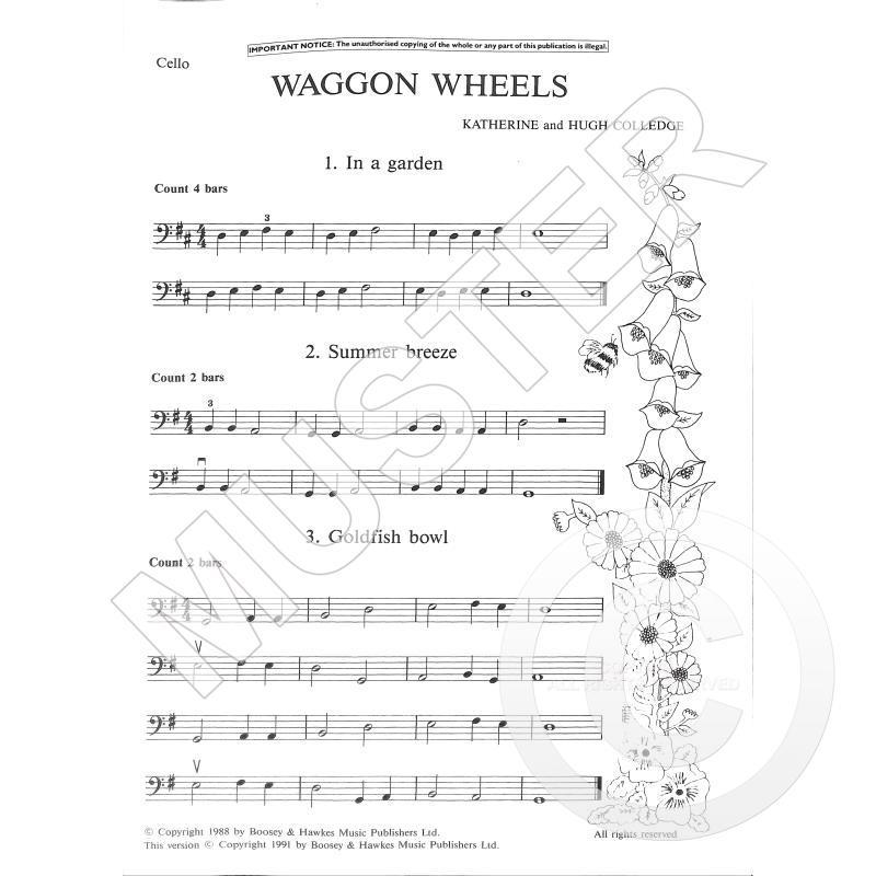 Titelbild für BH 1200303 - WAGGON WHEELS