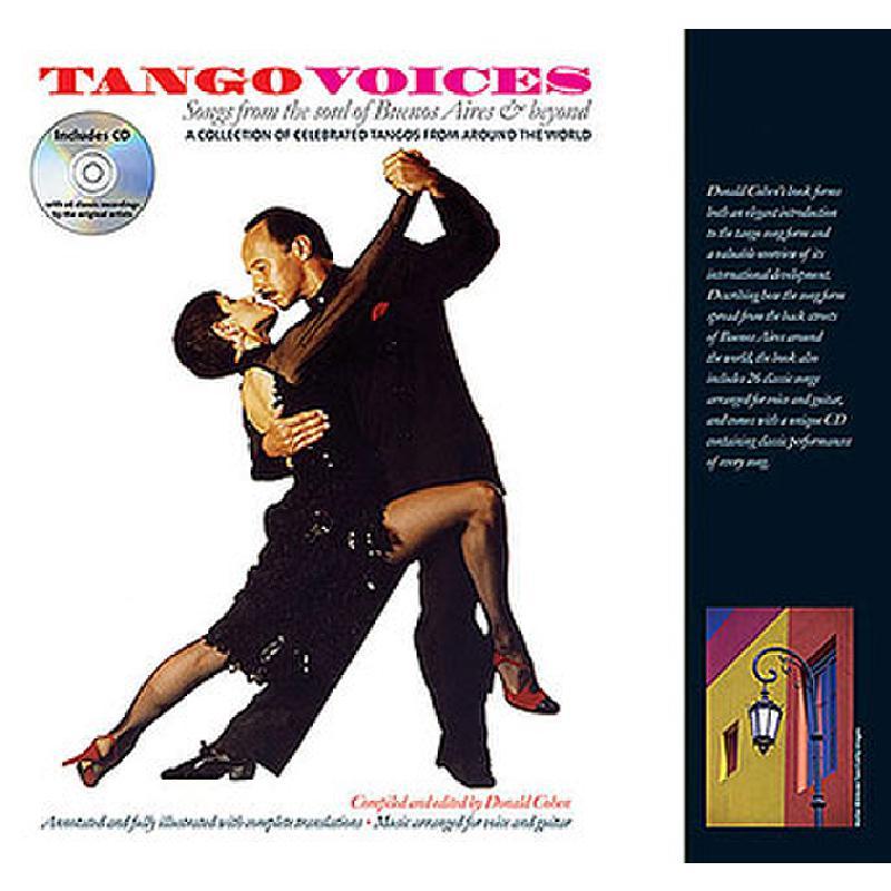 Titelbild für MSAM 989109 - TANGO VOICES