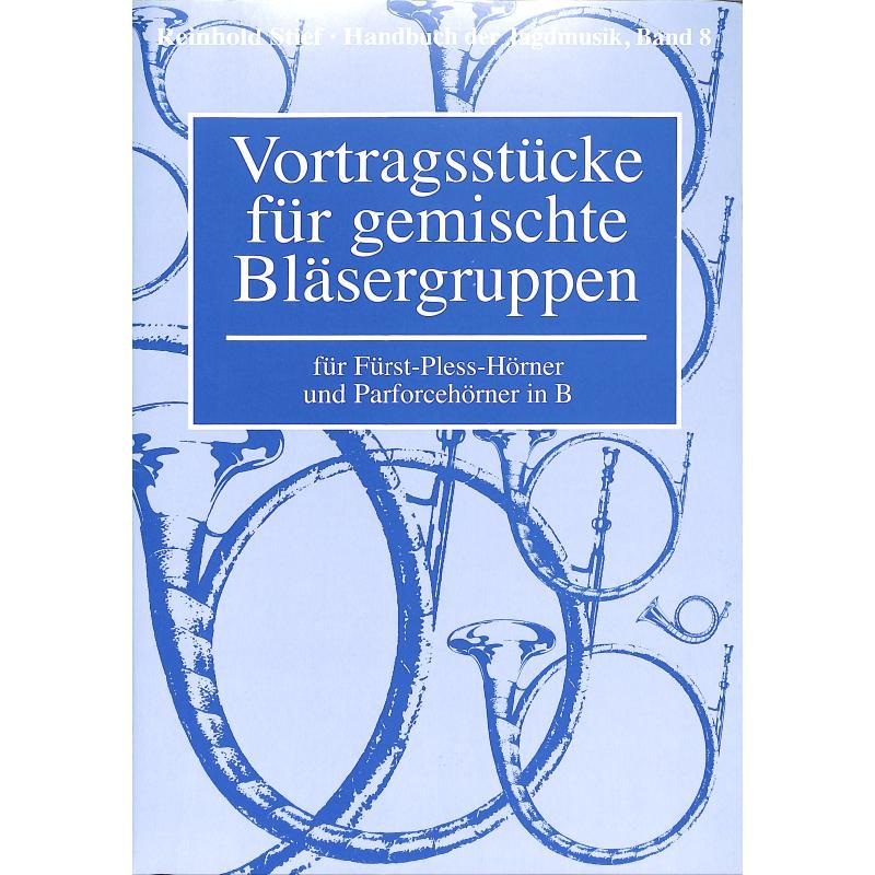 Titelbild für BLV 8 - Vortragsstücke für gemischte Bläsergruppen