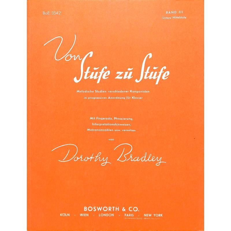 Titelbild für BOE 3542 - VON STUFE ZU STUFE BD 3