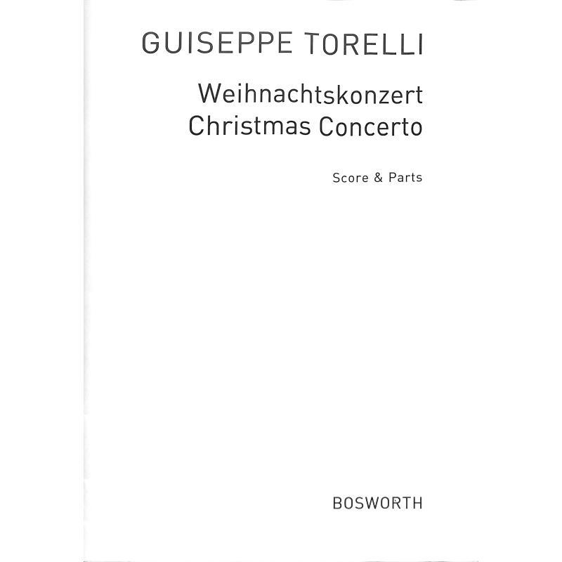 Titelbild für BOE 4082 - WEIHNACHTSKONZERT - 1 SATZ