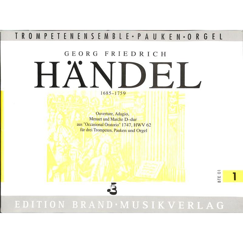 Titelbild für BRAND -BTE01 - OUVERTUERE ADAGIO