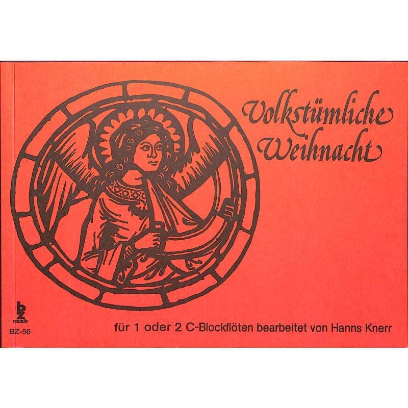Titelbild für BZ 56 - VOLKSTUEMLICHE WEIHNACHT