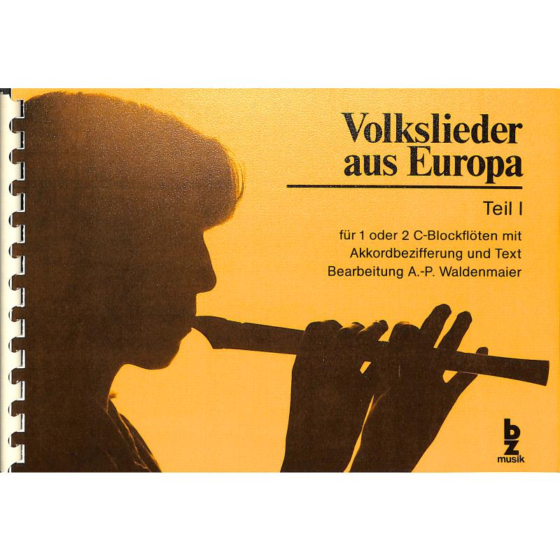 Titelbild für BZ 68 - VOLKSLIEDER AUS EUROPA 1