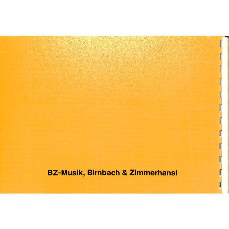 Notenbild für BZ 68 - VOLKSLIEDER AUS EUROPA 1