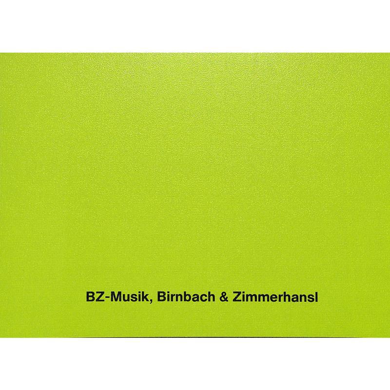 Notenbild für BZ 72 - VOLKSLIEDER DER ALPENLAENDER 1