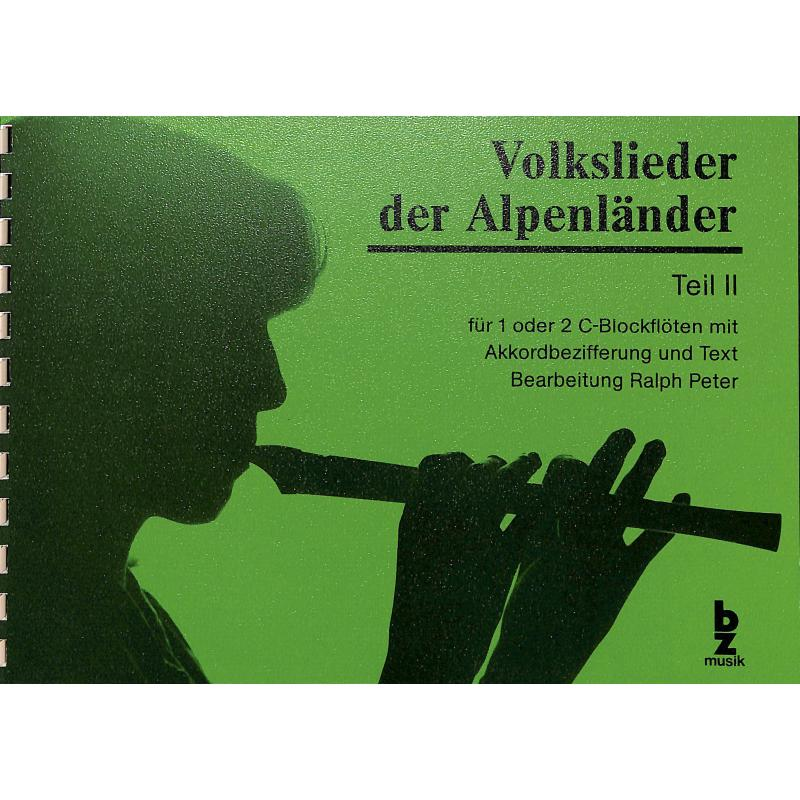 Titelbild für BZ 73 - VOLKSLIEDER DER ALPENLAENDER 2