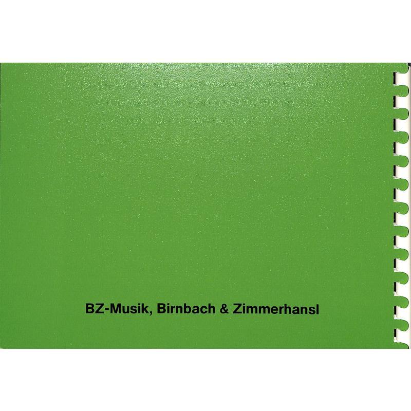 Notenbild für BZ 73 - VOLKSLIEDER DER ALPENLAENDER 2