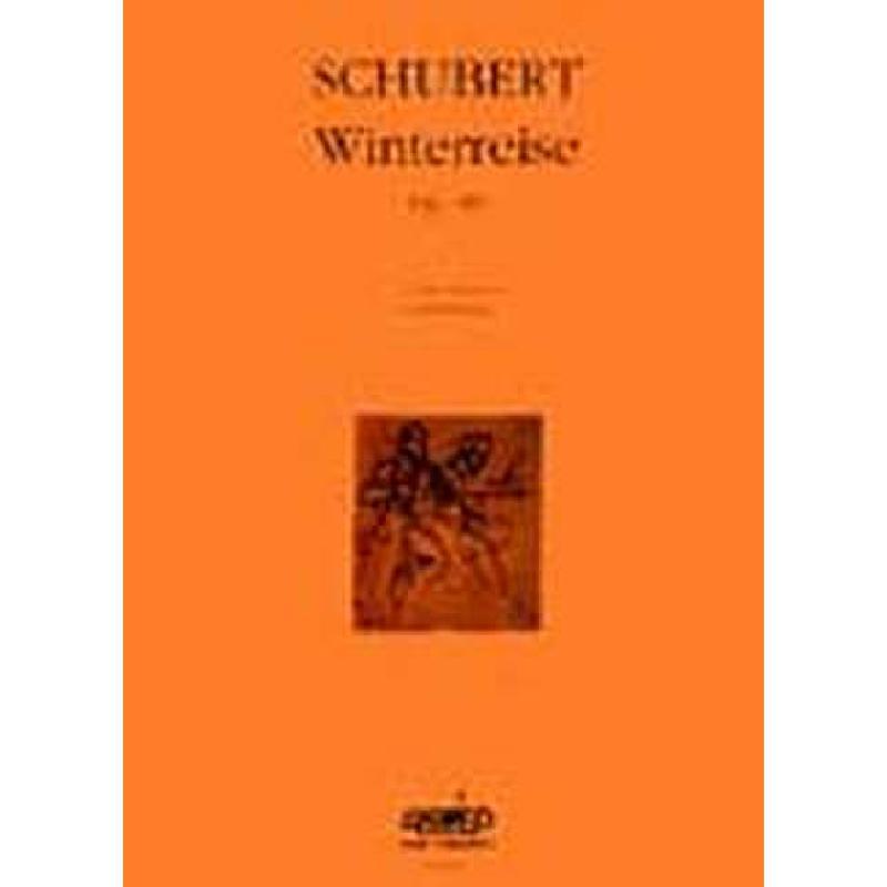 Titelbild für AKKORD 1009 - WINTERREISE OP 89 D 911