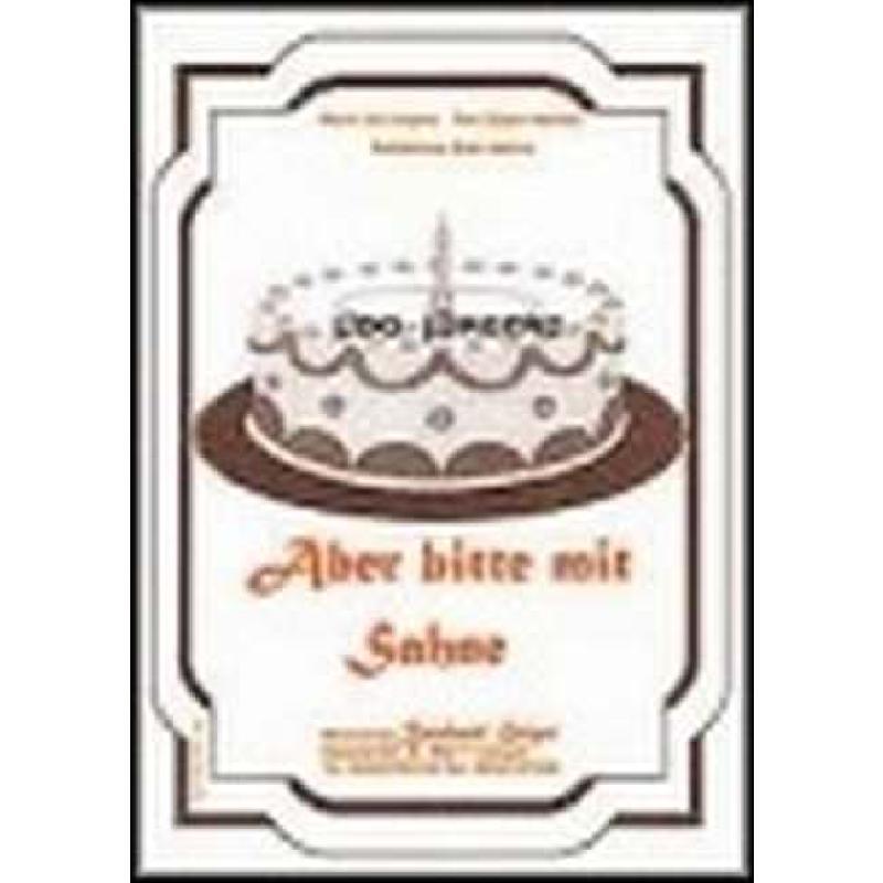 Titelbild für GEIGER 02-24-BB - ABER BITTE MIT SAHNE