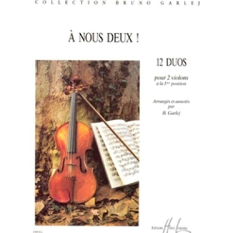 Titelbild für LEMOINE 27800 - A NOUS DEUX
