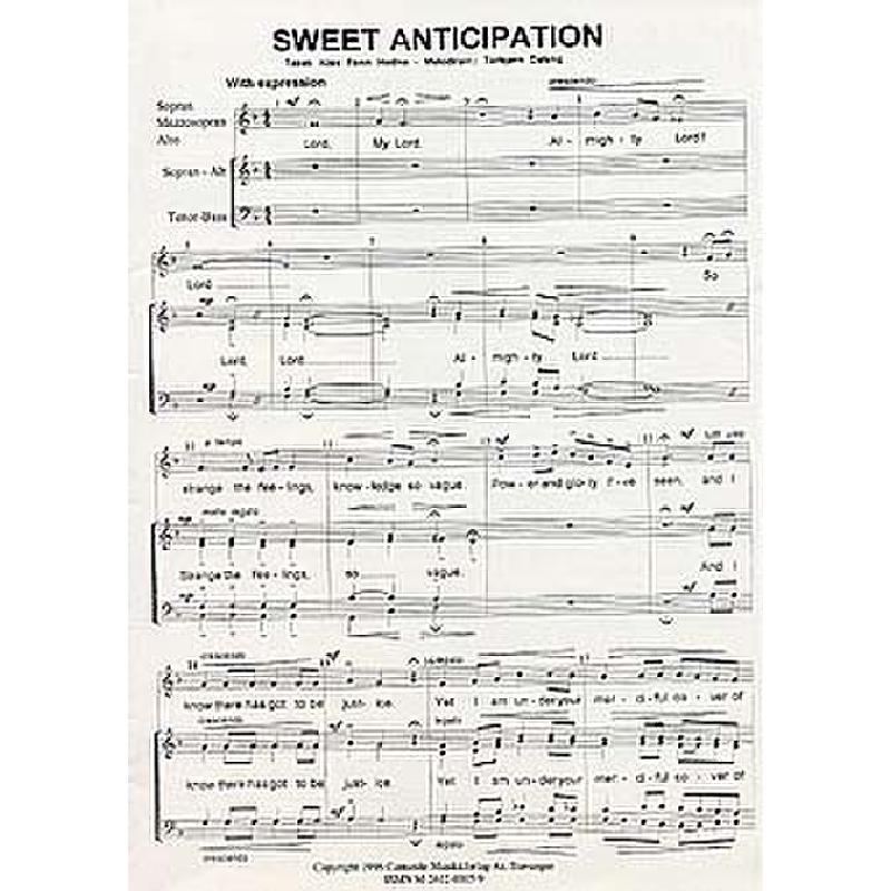 Titelbild für CANTANDO -C0005 - SWEET ANTICIPATION