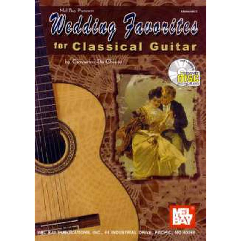 Titelbild für MB 99904BCD - WEDDING FAVORITES FOR CLASSICAL GUITAR