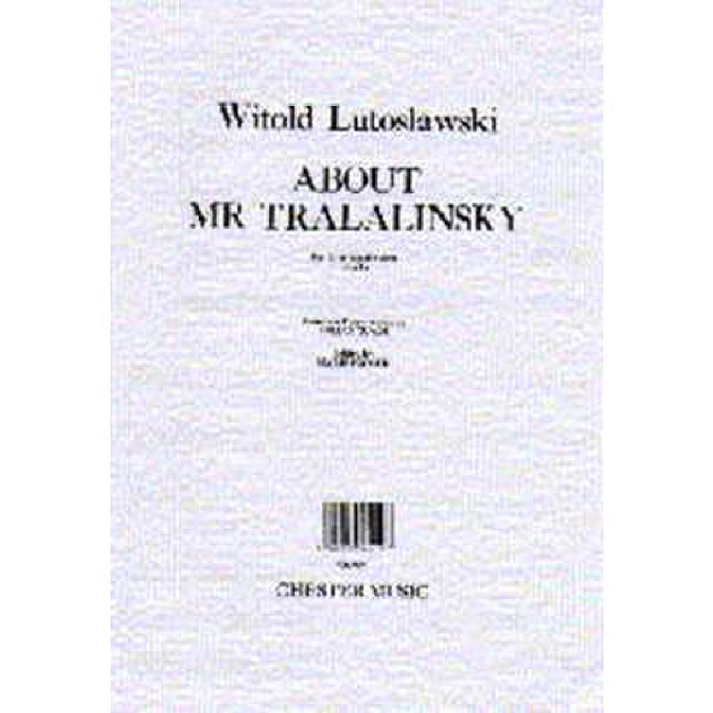 Titelbild für CH 55054 - ABOUT MR TRALALINSKI