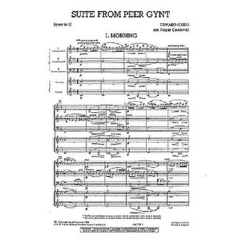 Titelbild für CH 55323 - PEER GYNT SUITE