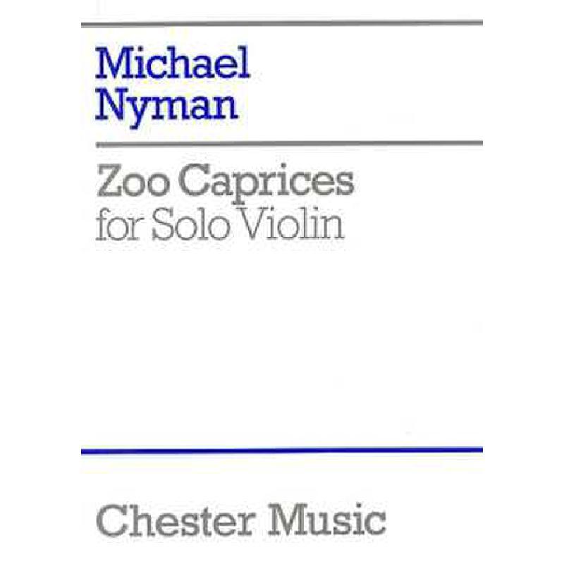 Titelbild für CH 60852 - ZOO CAPRICES