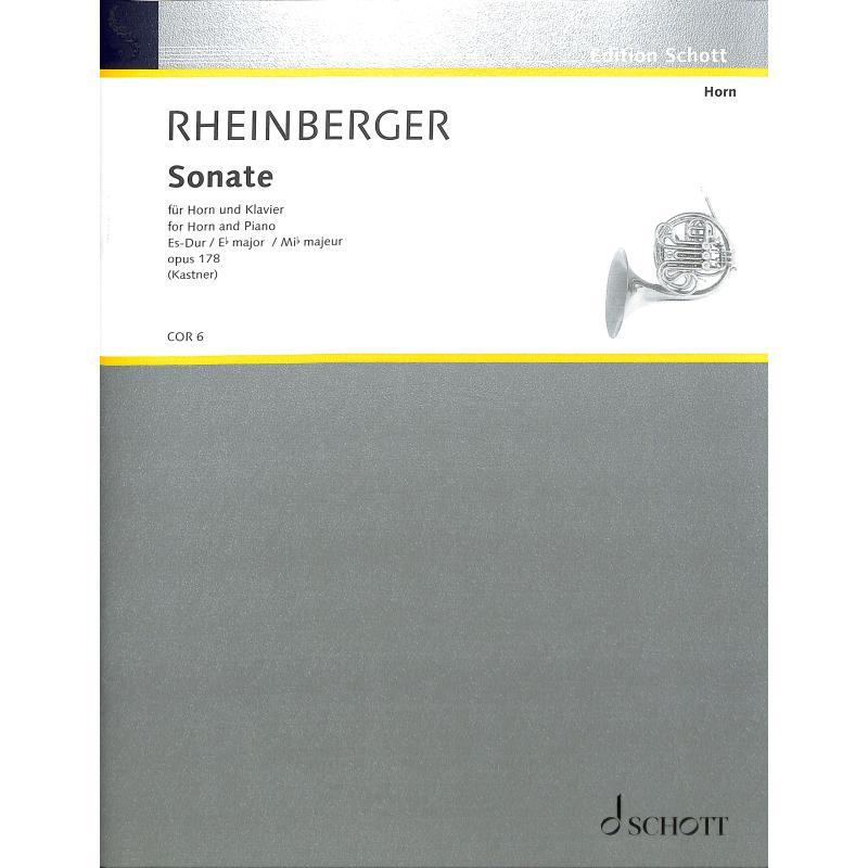 Titelbild für COR 6 - SONATE OP 178 ES-DUR