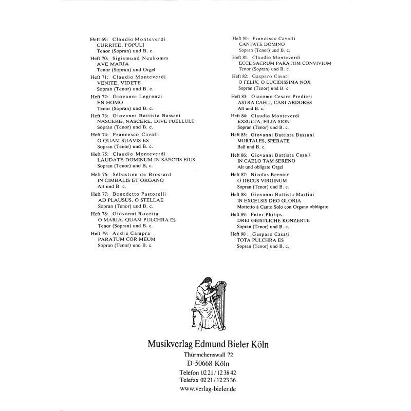 Notenbild für BIELER -CS61 - VENITE PASTORES