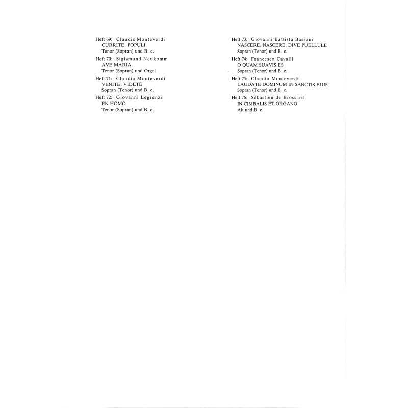 Notenbild für BIELER -CS71 - VENITE VIDETE