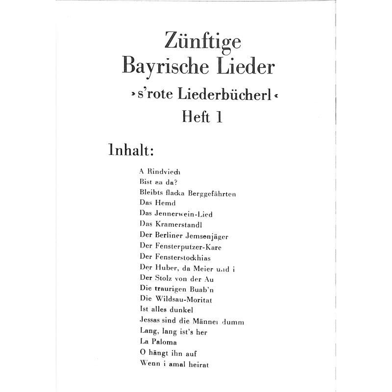 Notenbild für DENN 1603 - ZUENFTIGE LIEDER 3